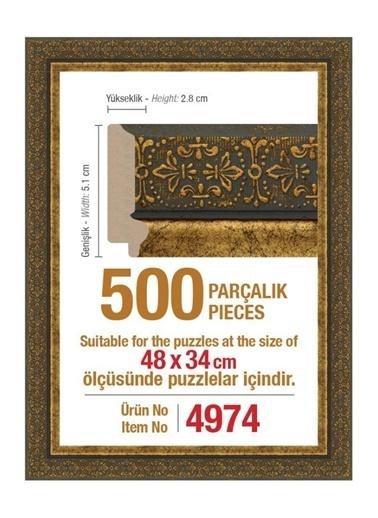Educa Heidi 500 Parçalık Puzzle Çerçevesi 48X34 Cm 4974 Renkli